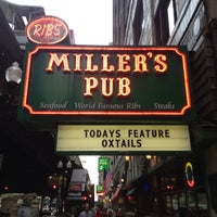 Photo taken at Miller's Pub by Ron A. on 7/2/2013