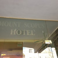 Photo taken at Mount Scopus Hotel by Osamu O. on 1/19/2013