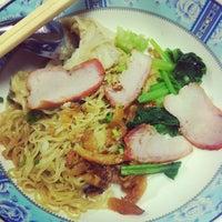 Photo taken at Noodle+Khamoo Restaurant by cheryl on 10/4/2013