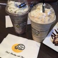 Photo taken at The Crêpe Café by April C. on 9/19/2015