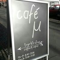 Photo prise au Café µ (mü) par rokr le2/10/2014