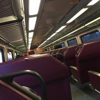 Photo taken at MBTA Commuter Rail South Attleboro by Ben-Oni J. on 10/12/2016