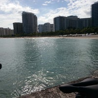 Photo taken at Bal Harbour Jetty by Sal G. on 11/7/2013