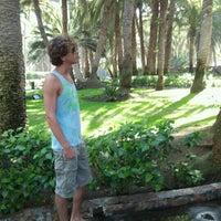 Photo taken at Maspalomas Oasis, RIU Gran Palace by Ivan В. on 9/21/2012