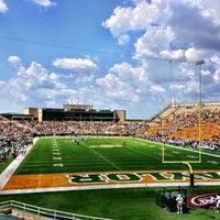Photo taken at Floyd Casey Stadium by Caleb on 9/7/2013