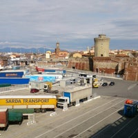 Photo taken at Porto di Livorno by Stan D. on 3/25/2013