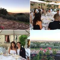 Photo taken at Relais Il Falconiere Hotel Cortona by Rick V. on 8/15/2016