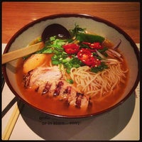 Photo taken at wagamama by Rick V. on 2/4/2013