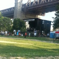 Photo taken at Queensbridge Park by Pierce P. on 7/18/2013