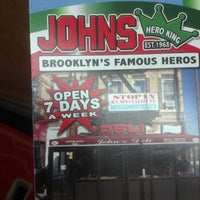 Photo taken at The Original John's Deli by Pierce P. on 11/1/2012