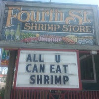 Photo taken at Fourth Street Shrimp Store by Sunny Wynn B. on 4/17/2013