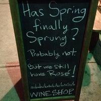 Photo taken at Wineshop by Liza F. on 3/21/2014