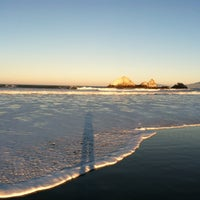 Photo taken at Pacific Ocean by Christopher J M. on 1/21/2013