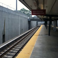 Photo taken at PATCO: Haddonfield Station by Christopher J M. on 8/29/2013