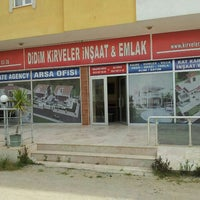Photo taken at Didim KIRVELER EMLAK by Fırat T. on 4/13/2015