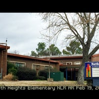 Photo taken at North Heights Elementary by Dianne H. on 2/19/2016