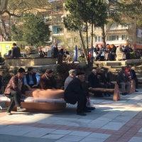 Photo taken at Cumhuriyet Meydanı by Ilknur G. on 3/30/2016