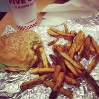 Photo taken at Five Guys by Mindy G. on 3/11/2013
