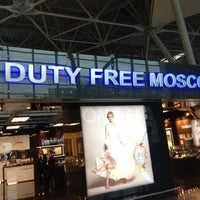 Photo taken at Duty Free Moscow by Andrew B. on 5/26/2013