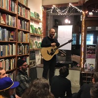 Photo taken at Adobe Books & Art Cooperative by Stephen F. on 4/6/2017