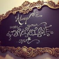 Photo taken at Bella Rey Salon by Liz B. on 9/10/2014