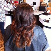 Photo taken at Bella Rey Salon by Liz B. on 1/4/2014
