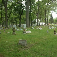 Photo taken at Oak View Cemetry by Jerrod W. on 5/27/2013