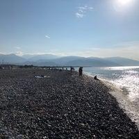 Снимок сделан в Самый южный пляж России пользователем Julia B. 9/17/2018