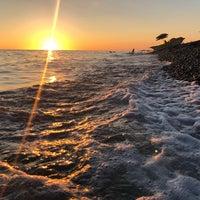 Снимок сделан в Самый южный пляж России пользователем Julia B. 9/18/2018