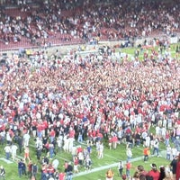Photo taken at Stanford Stadium by Donald G. on 9/16/2012