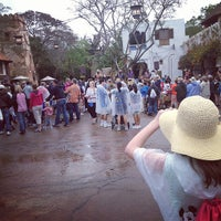Photo taken at Harambe Village by Jay J. on 3/12/2013