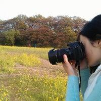 Photo taken at 경주동부사적지대 by Vesselina Vava L. on 4/13/2014