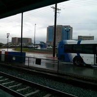 Photo taken at UTA FrontRunner Murray Station by Felipe Mafra on 9/13/2013
