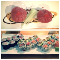 Photo taken at Vic Sushi Bar by Jackie F. on 10/3/2013