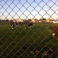 Photo taken at Freedom Park - DF Softball by Oz H. on 4/6/2014