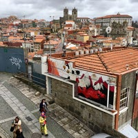 Photo taken at Miradouro da Vitoria by John C. on 2/28/2017