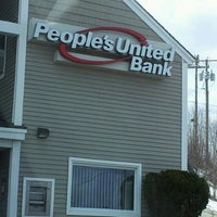 Photo taken at People's United Bank by Cammie F. on 3/25/2013