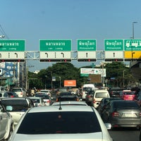 Photo taken at Yommarat Intersection by Nam N. on 9/13/2017