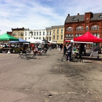Photo taken at Stratford Market Square by Laurie K. on 5/5/2013