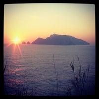 Photo prise au Punta Campanella par Amalia C. le12/7/2013