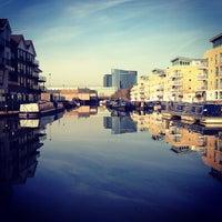Photo taken at Brentford Dock by Steve C. on 11/30/2012
