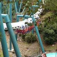 Photo taken at Alpengeist - Busch Gardens by Robert Z. on 9/29/2012