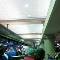 Photo taken at Terminal 2 Security Checkpoint by Christopher G. on 9/15/2012