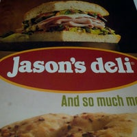 Photo taken at Jason's Deli by Christopher G. on 4/27/2013
