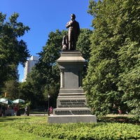 Photo taken at Statue of Daniel Webster by Jessica L. on 9/25/2016