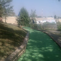 Photo taken at Adventure Golf by Mojo on 9/8/2013