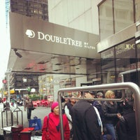 Photo taken at DoubleTree by Hilton Hotel Metropolitan - New York City by Pawoot (Pom) P. on 10/7/2012