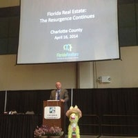 Photo taken at Charlotte Harbor Event And Conference Center by Lynn D. on 4/16/2014