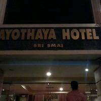 Photo taken at Ayothaya Hotel by nattipat s. on 5/28/2013
