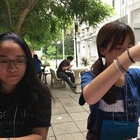 Photo taken at ลานประชุมเชียร์ คณะมนุษยศาสตร์ by chompi . on 7/15/2017